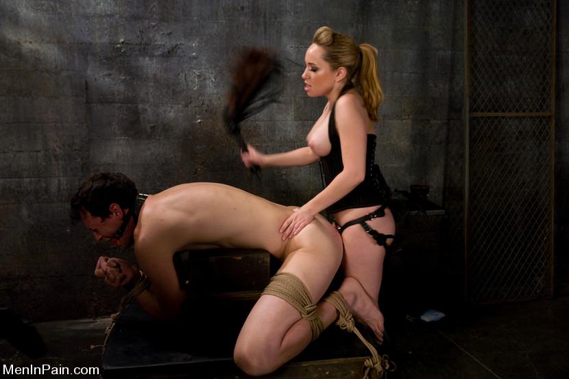 blonde spanking doggyboy
